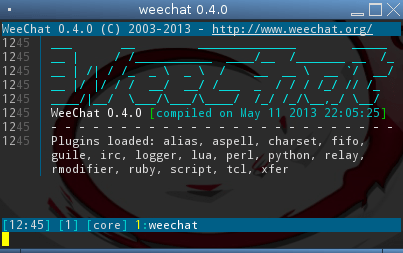 WeeChat :: about :: features